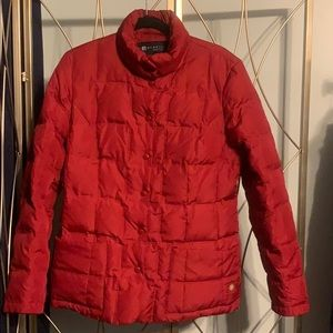 KENNETH COLE REACTION MID-WEIGHT PUFFER JACKET